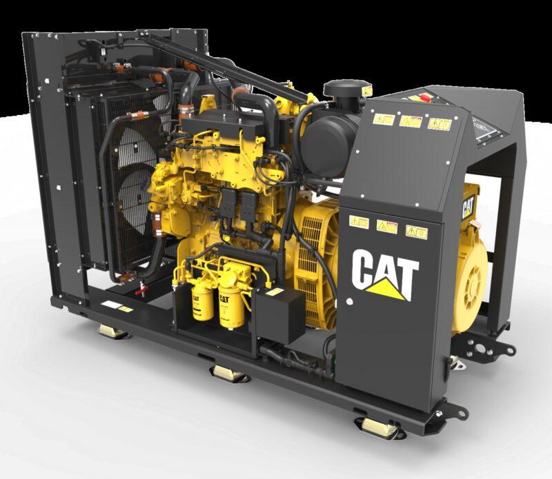 Nya generatoraggregatet Cat C4.4 för marint bruk.