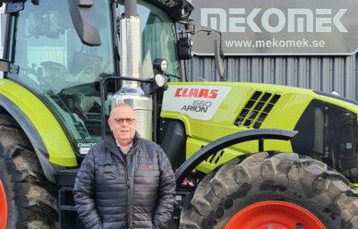 Arne Eriksson är ny säljare hos Swedish Agro Machinery.