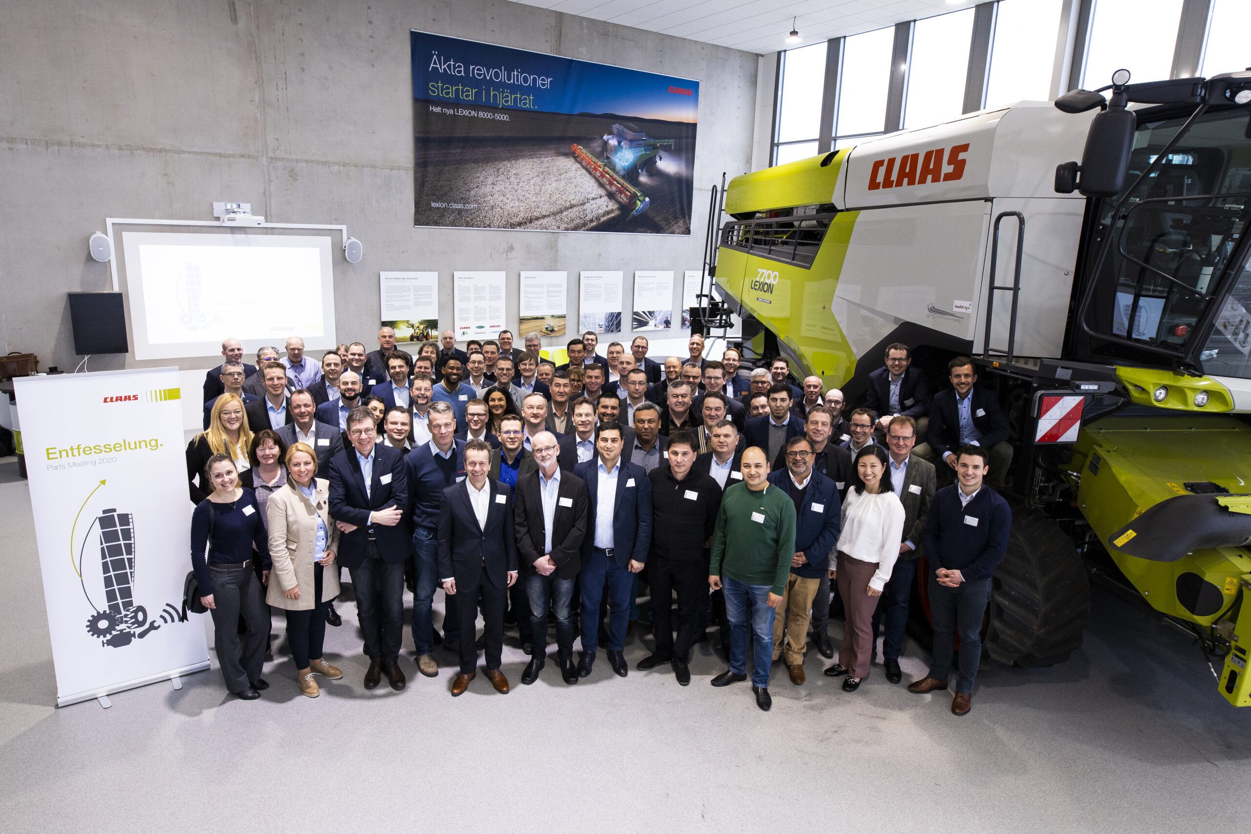 CLAAS International Parts Meeting i Skurup