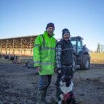 Håkan och Catharina Carlsson är den tredje generationen på gården i Nalaviberg utanför Örebro