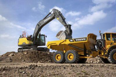 EC300E Hybrid-grävmaskin