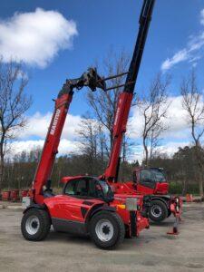 4 ton och 18 meter eller 5ton och 30 meter kan kunderna välja mellan.