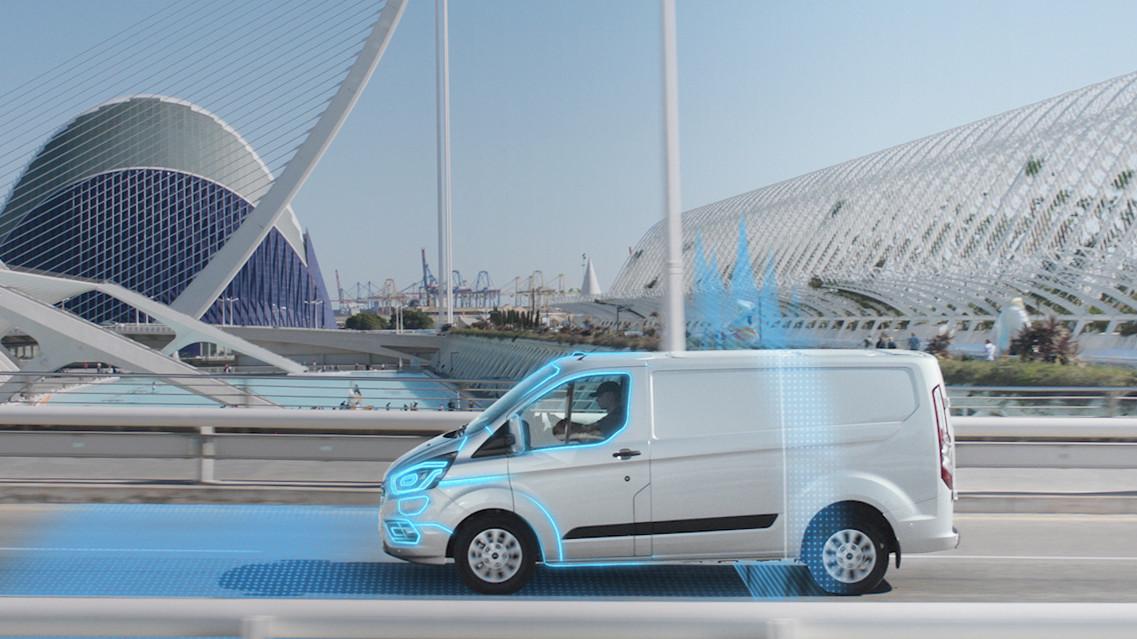 Ford introducerar geofencing-teknologi för nya Transit Custom PHEV