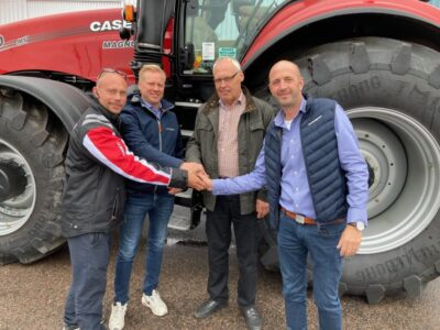 Från vänster: Karl-Johan Larsson, Thomas Olsson, Per-Arne Carlsson och Daniel Bryske.